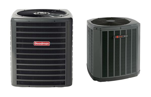 trane vs goodman air conditioning